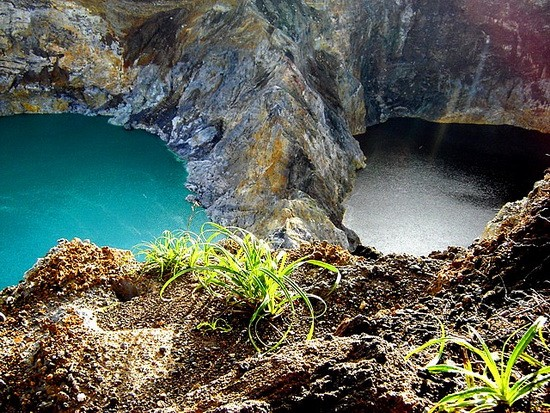 Photo:  Kelimutu Lakes