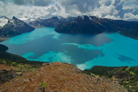 Photo:  Lago Garibaldi