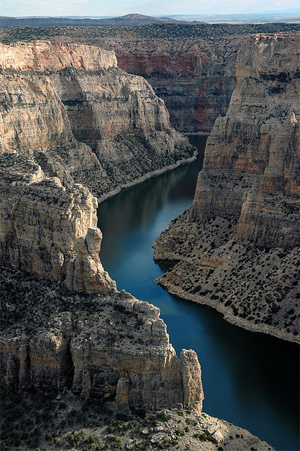 Photo:  Big Horn Canyon, Wyoming.