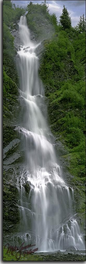 Photo:  Bridal Veil Falls, Valdez