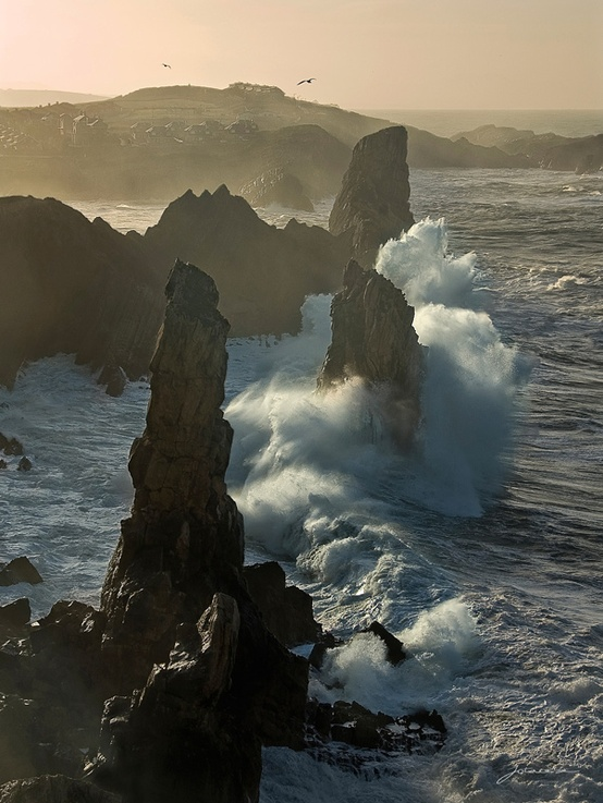 Photo:  Costa Quebrada, Cantabria, Spain