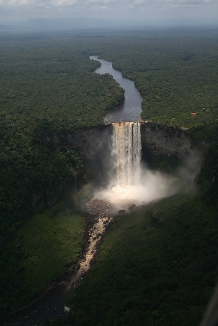 Photo:  Kaieteur Falls in Guyana