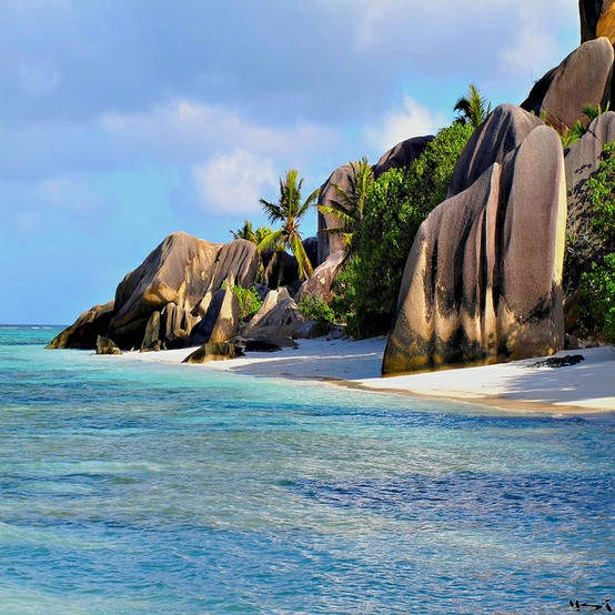 Photo:  La Digue, seychelles