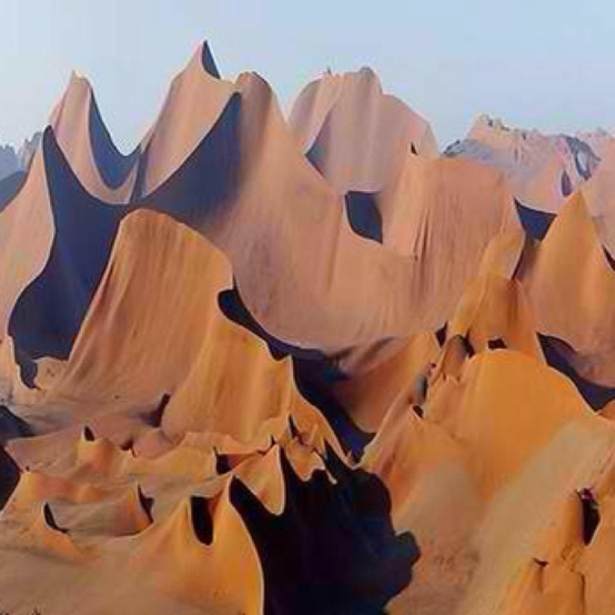 Photo:  Wind Cathedral Namibia