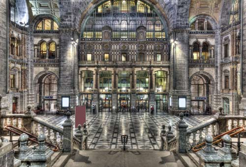 Photo:  Antwerp Central, Anversa, Belgio