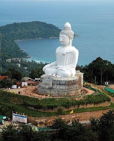 Photo:  Big Budda in Phuket Thailand