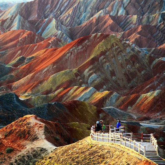 Photo:  Danxia Landform, China