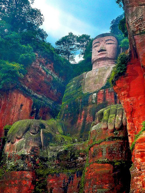 Photo:  The Leshan Giant Buddha
