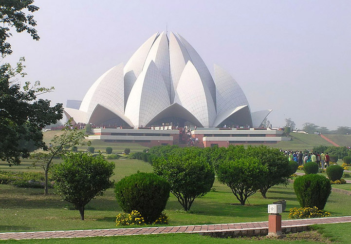 Photo:  Lotus Temple in New Delhi, India