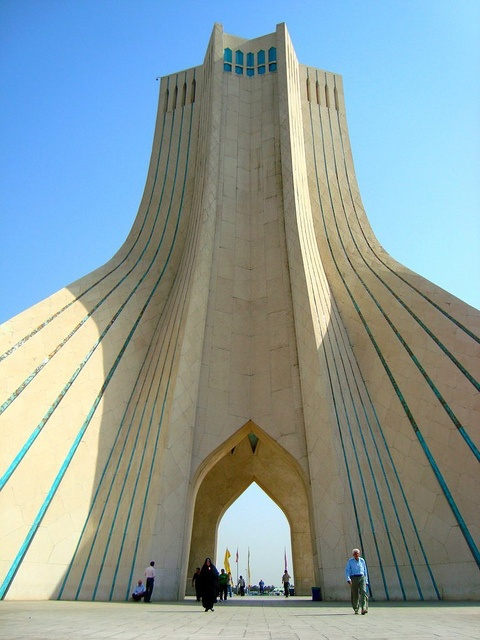 Photo:  Freedom Tower, Tehran