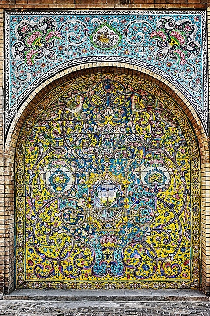 Photo:  Golestan Palace detail