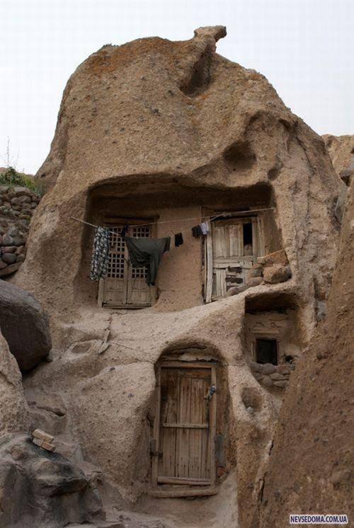 Photo:  Old house in one of the old villages in Iran