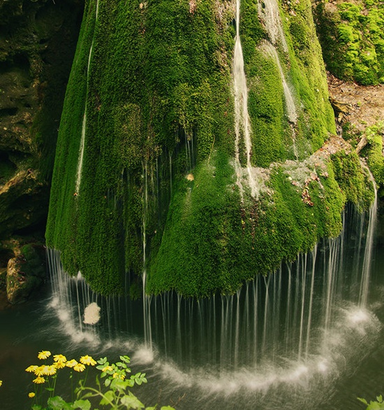 Photo:  Bigar Waterfall, Caras Severin, Romania