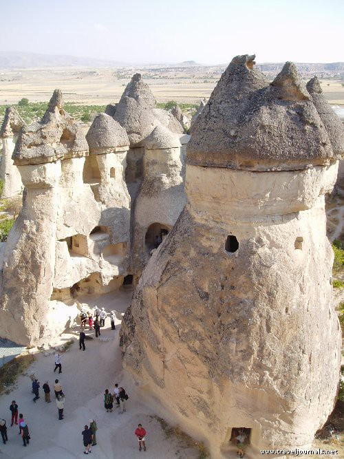 Photo:  Cappadocia, rock formations beyond belief