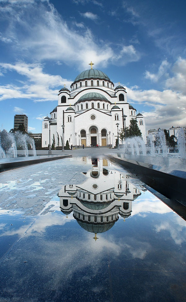 Photo:  Church St. Sava, Belgrade (Serbia)