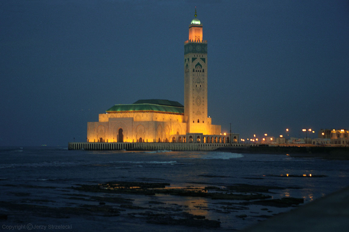 Photo:  Hassan II Mosque