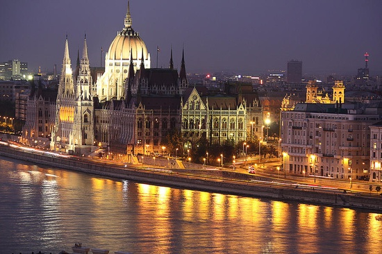 Photo:  Budapest Parliament buildings
