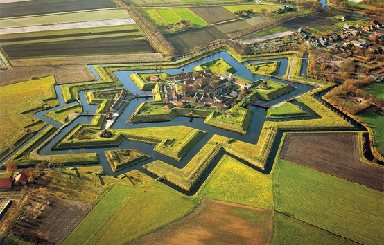 Photo:  Fort Bourtange in Groningen, Netherlands