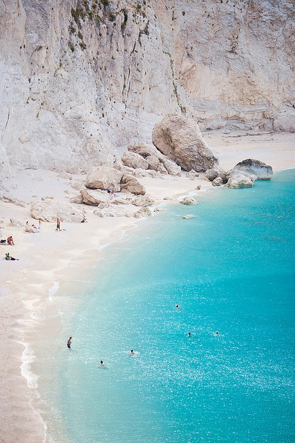 Photo:  Porto Katsiki, Lefkada, Greece