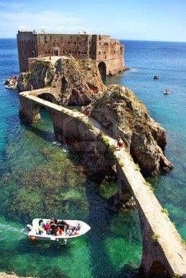 Photo:  Fort de Saint John the Baptist Berlenga Island Portugal.