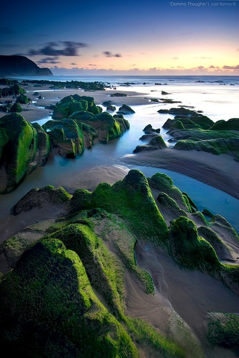 Photo:  The Tranquil Sea, Algarve, Portugal