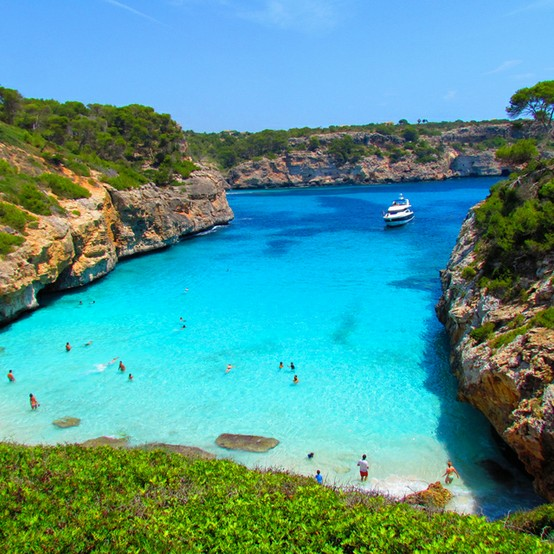 Photo:  Calo des Moro Beach, Spain