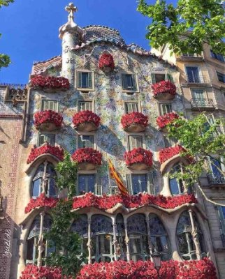 Photo:  Casa Batllo, Barcellona