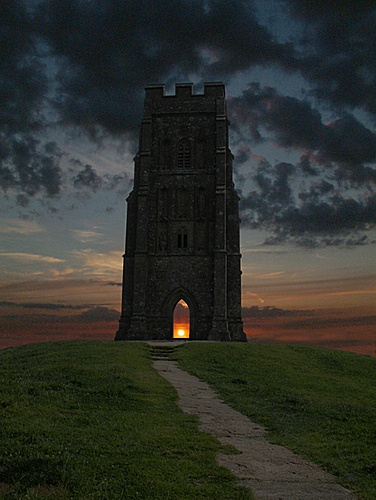 Photo:  Glastonbury, England