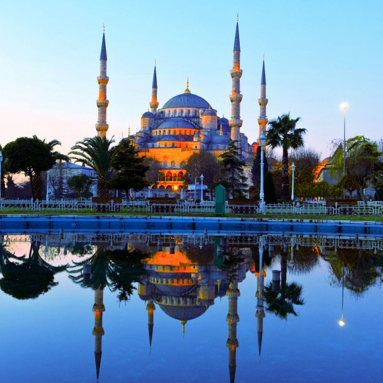 Photo:  Blue Mosque in Istanbul, Turkey