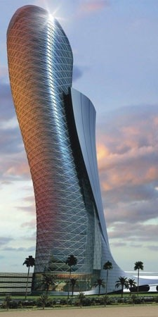 Photo:  Capital Gate in Abu Dhabi