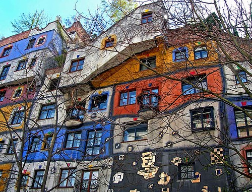 Photo:  friedrich hundertwasser