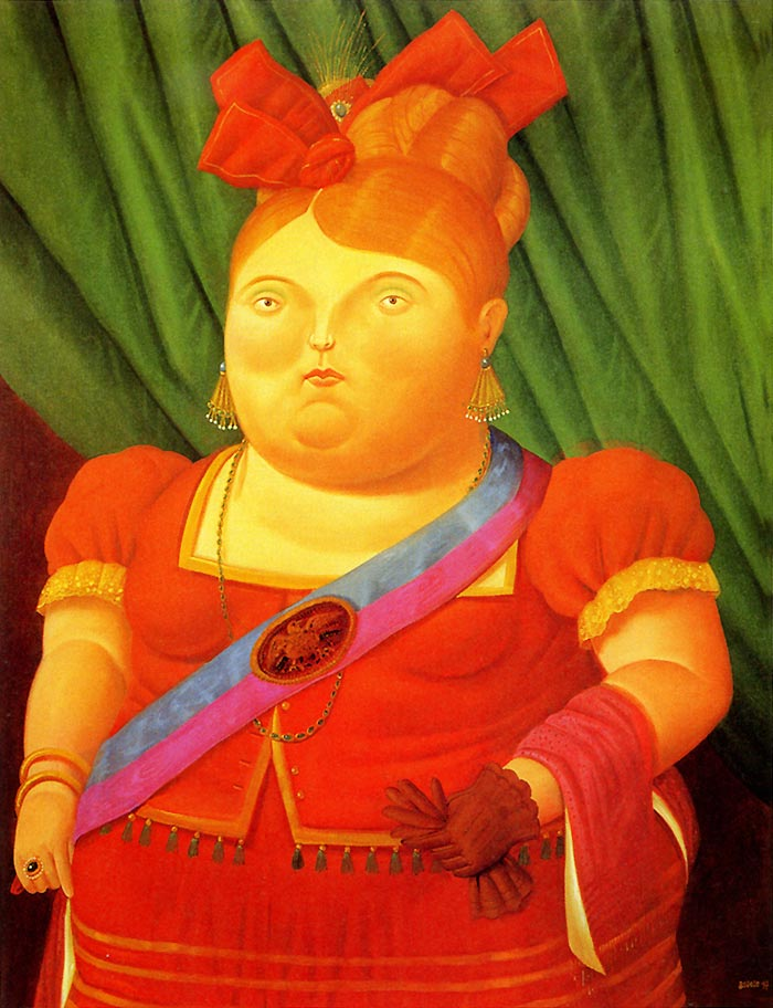Photo:  Fernando Botero,The First Lady, 1997