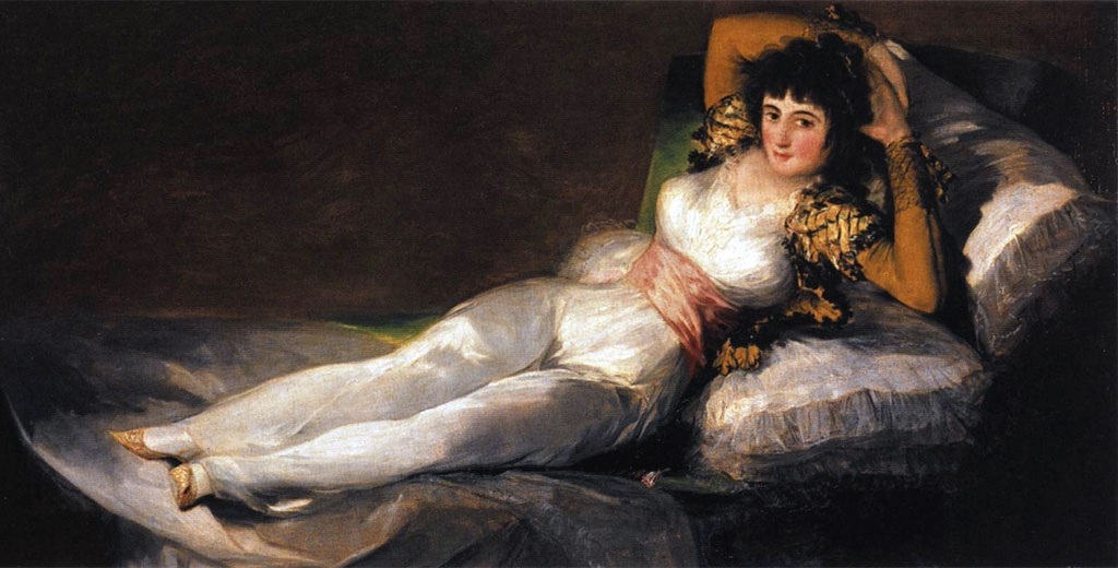 Photo:  Francisco Goya,Maja vestida,1800