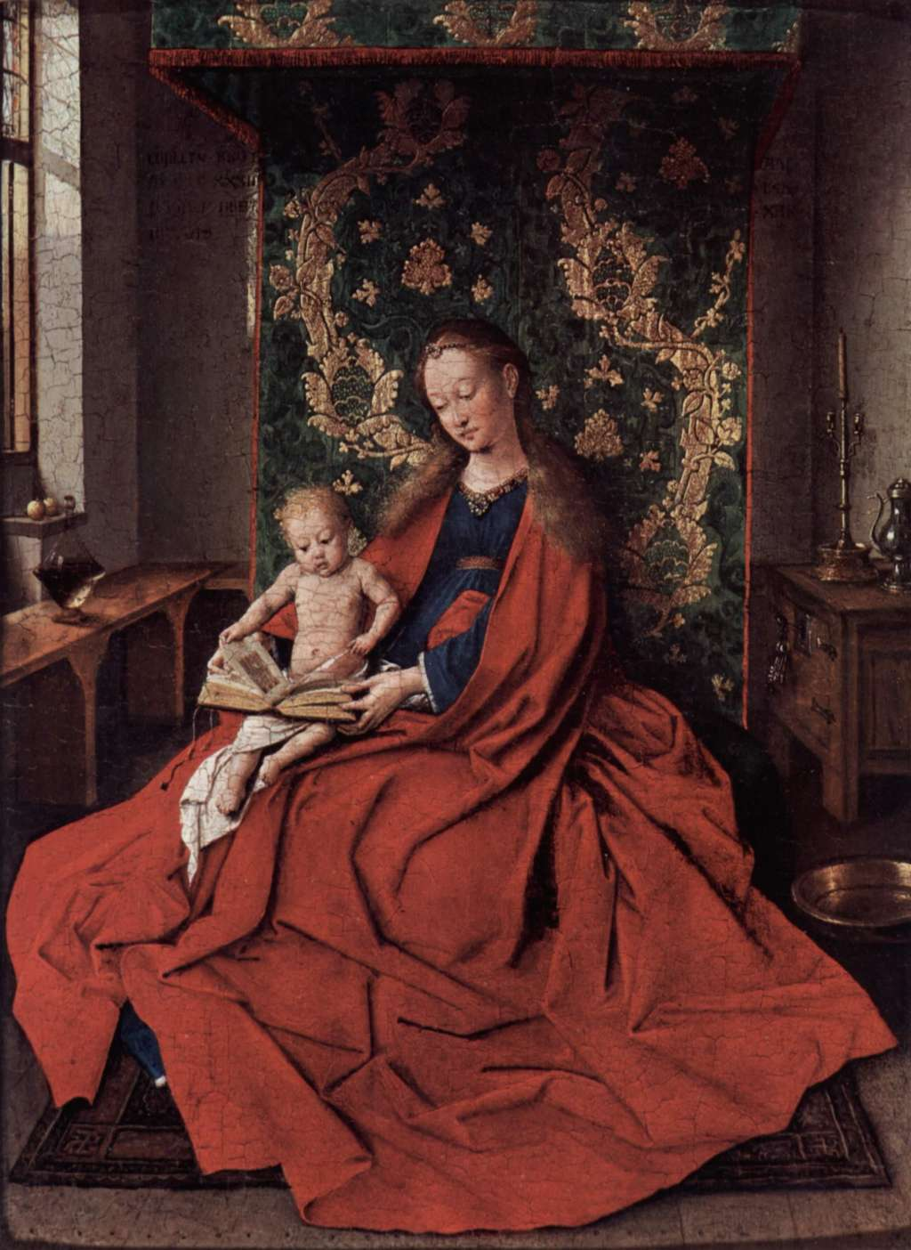 Photo:  Jan can Eyck-madonna-with-child-reading-Ince Hall Madonna