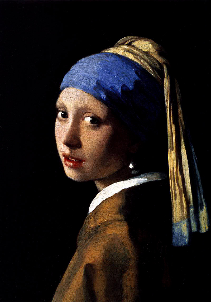 Photo:  Jan Vermeer,Girl with a Pearl Earring (1965