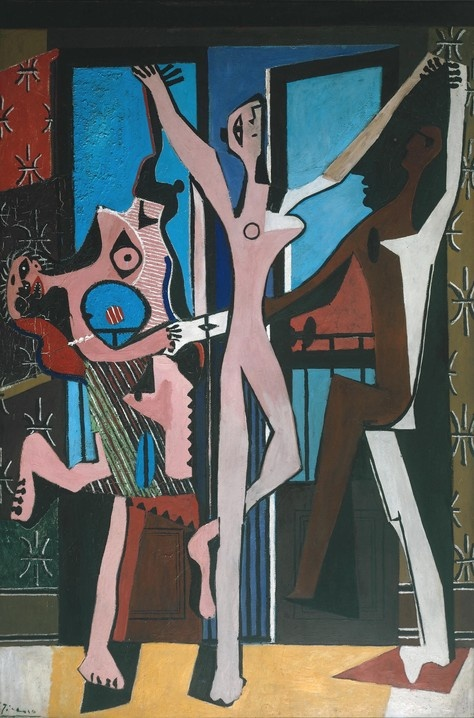Photo:  'The Three Dancers' by Pablo Picasso (1925)
