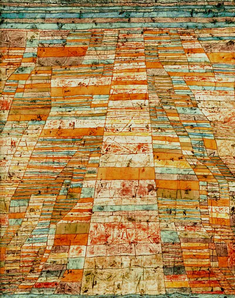 Photo:  Paul Klee,Highway and Byways, 1929