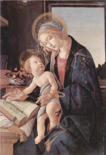 Photo:  Madonna of the Book