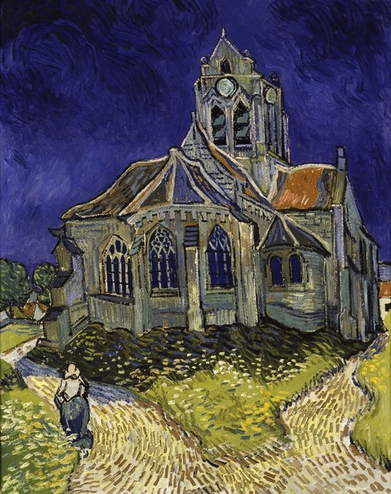 Photo:  'The Church in Auvers