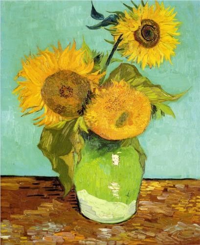 Photo:  Sunflowers 1888. Vincent van Gogh