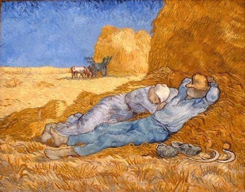 Photo:  The Siesta, Vincent Van Gogh