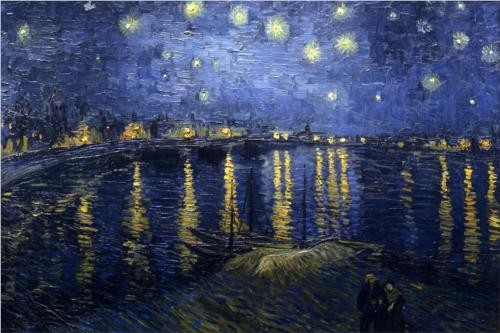 Photo:  The Starry Night (over the Rhone) (1888) ~ Vincent van Gogh