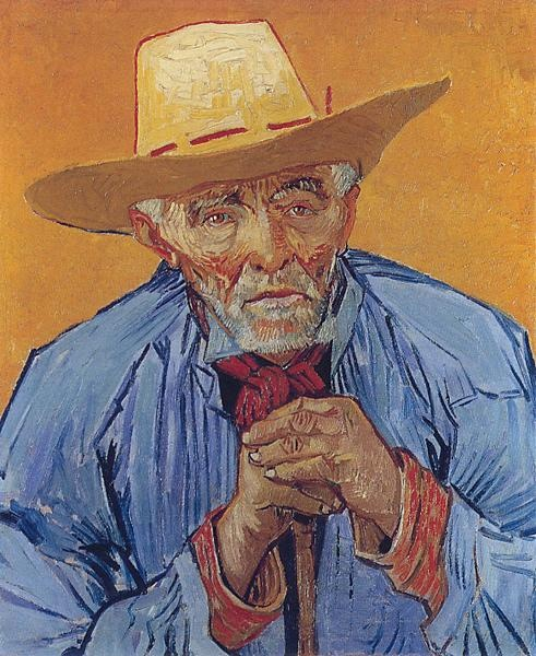 Photo:  Van Gogh Portrait of Patience Escalier 1888