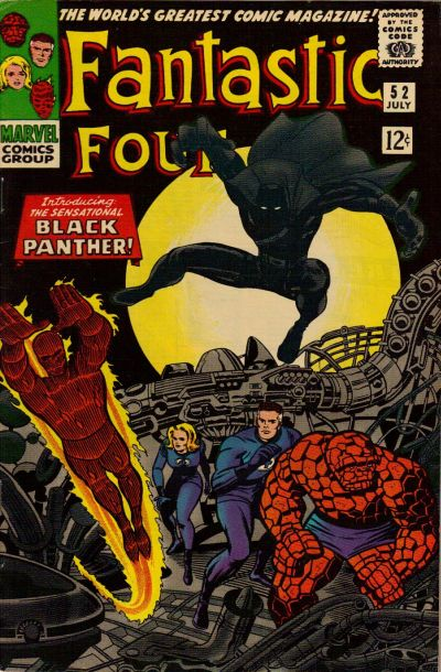 Photo:  Fantastic Four 52, July 1966