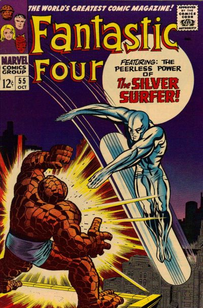 Photo:  Fantastic Four 55, October 1966