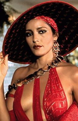 Photo:  Barbara Carrera as Fatima Blush