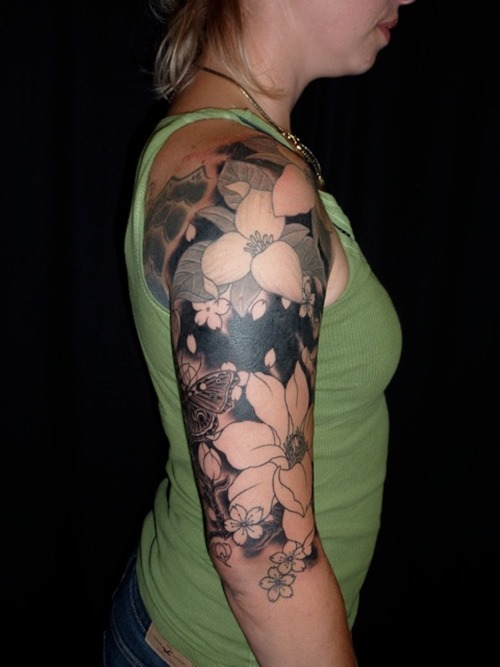 Photo:  Flower Tattoo 010