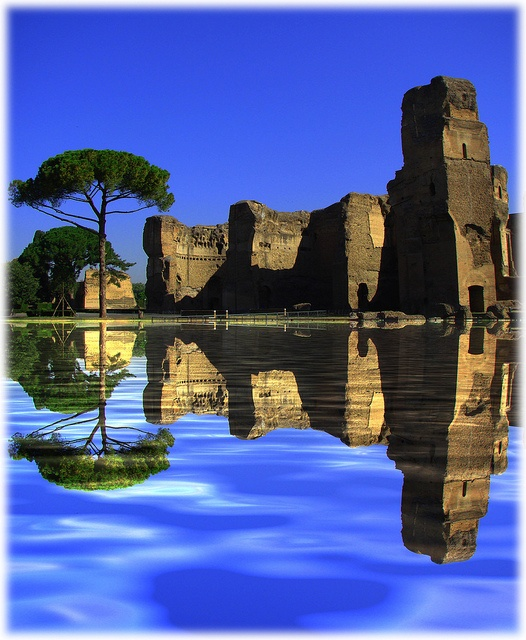 Photo:  Baths of Caracalla, Rome, Italy