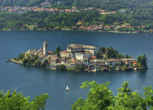 Photo:  The most romantic lake of Italy