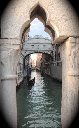 Photo:  Bridge of Sighs, Venice, Italy